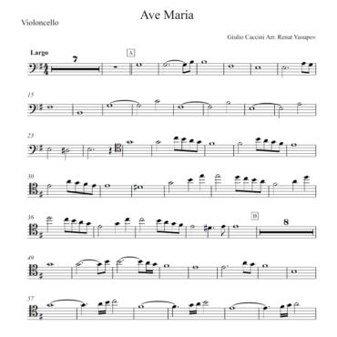 """<span itemprop=""""name"""">Ave Maria Cello Part</span>"""